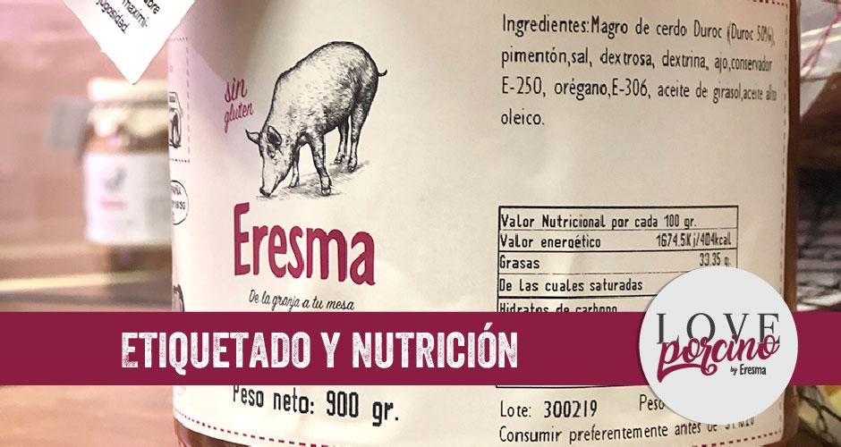 Etiquetado y nutrición